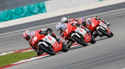 Mario SA juara balapan Asia Talent Cup Malaysia,