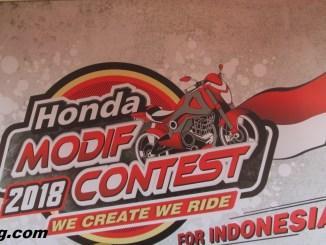 Honda Modif Contest Cirebon 2018