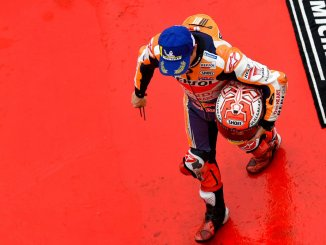 Marquez dapat pole tapi start dari urutan 7