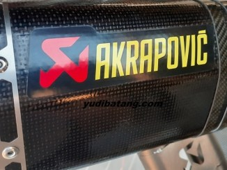 Knalpot Acrapovic asli