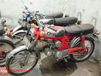 motor honda pertama di indonesia