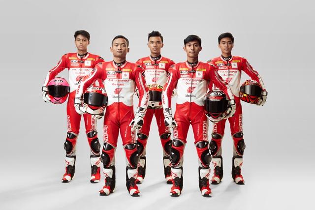 Pembalap astra Honda racing 2021