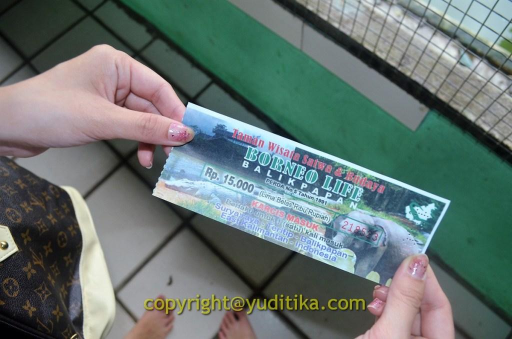 Tiket Masuk Wisata Penangkaran Buaya di Balikpapan