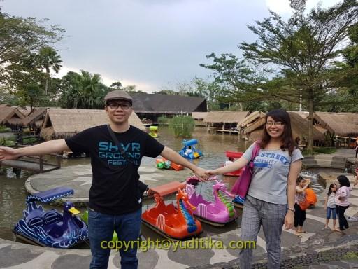 Fasilitas permainan di Rumah Air Bogor