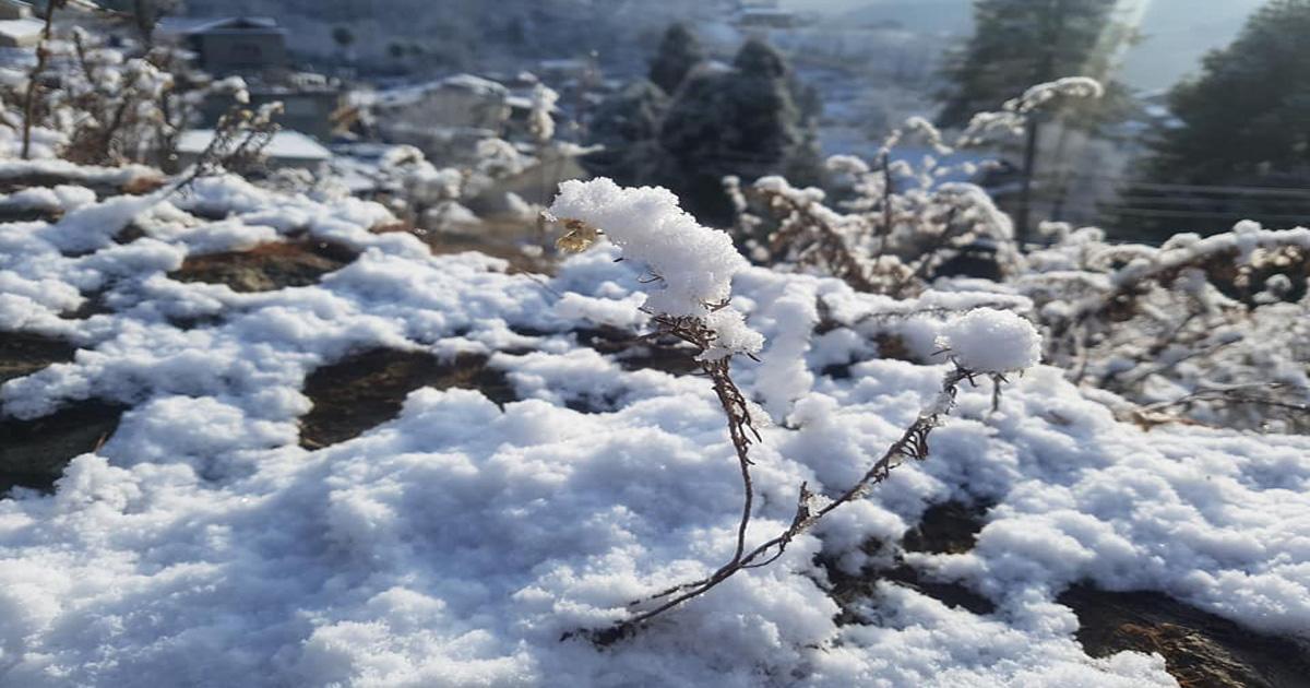 हिमाली भागमा भारी हिमपातको सम्भावना औंल्याउँदै सतर्कता अपनाउन आग्रह : जल तथा मौसम विज्ञान विभाग