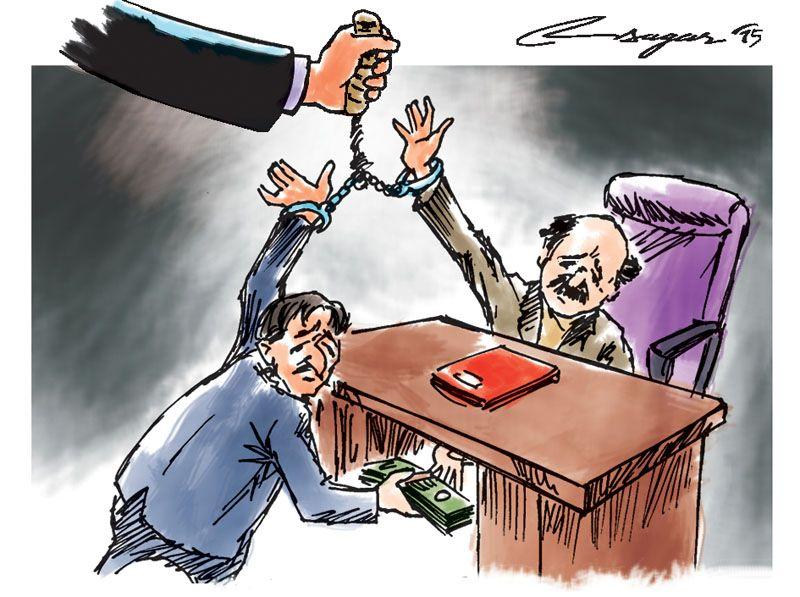 घरेलु तथा साना उद्योग कार्यालय नेपालगञ्ज बाँकेका उद्योग अधिकृत हुकुमबहादुर ओली घुस रकमसहित पक्राउ