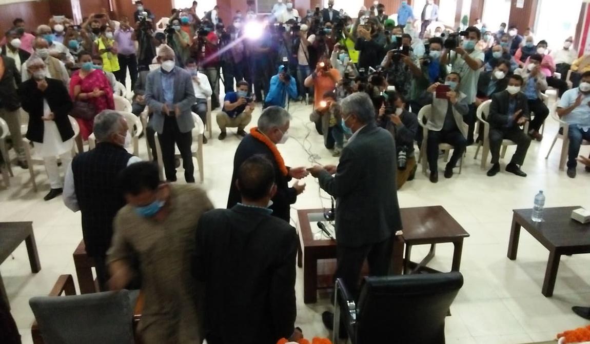 बिपी कोइरालाको राष्ट्रिय मेलमिलापको नीति र सूर्यबहादुर थापाको परिवर्तनलाई आत्मसात गर्ने बिचारको संगममा खडा भएर कांग्रेसमा प्रवेश :नेता सुनिल थापा