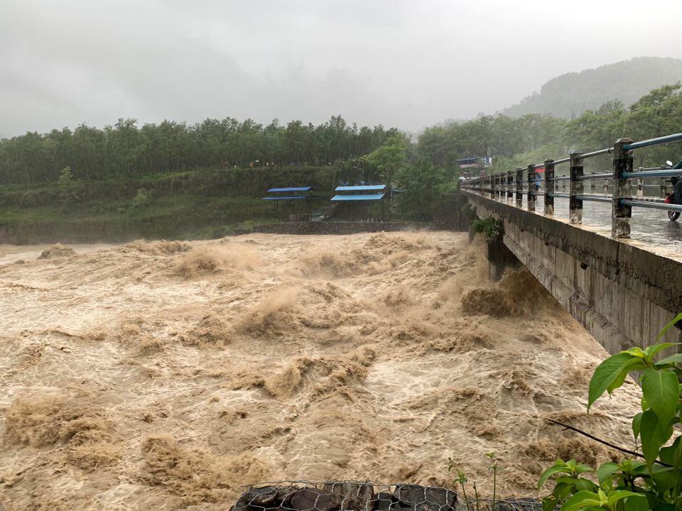 सेती नदी उर्लिंदा शुक्लागण्डकीमा तनाव