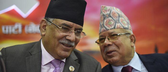 प्रचण्ड-नेपाल पक्षले ६८ जिल्लामा छान्यो अध्यक्ष र सचिव