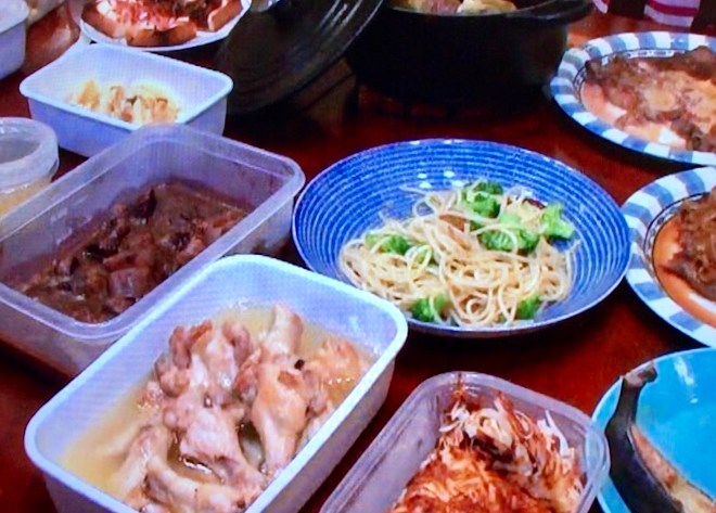 志麻さんの花田家で3時間で19品絶品レシピ