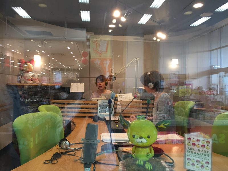 ハグフェスステージイベント、FMチャッピーフリーアナウンサー藤井千代美、藤井奈央美によるトークショーイメージ画像