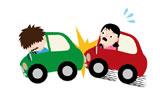 車で追突されるイメージ