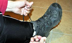 靴の履き方その2