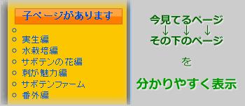 固定ページの子ページをウィジェットに表示