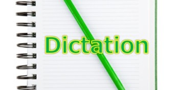 13.dictation