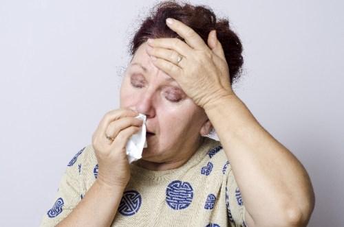 鼻水、鼻栓、おばちゃん