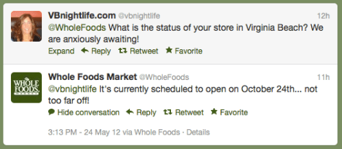 Whole Foods Social Media