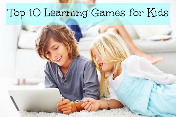 Top 10 Learning Games for Kids by Yu Kai Chou