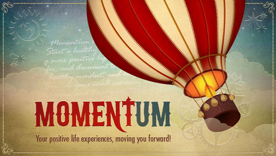Momentum Logo by Mindbloom