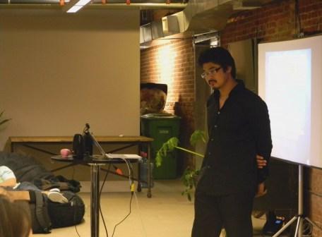 Yu-kai reviewing participants' Octalysis Charts