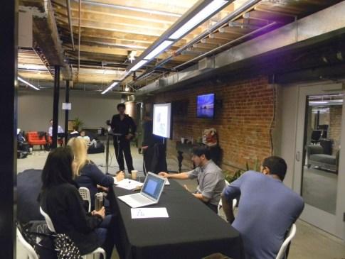 An image of Yu-kai Chou presenting his Advanced Octalysis Gamification Design Workshop