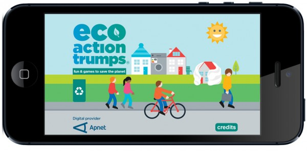 Eco Action Trumps Image for eco-friendly apps