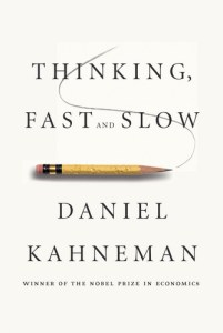 Thinking, Fast and Slow psychology book image