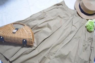 流行のスカートコーデはフレアスカートにミモレ丈で決まり!