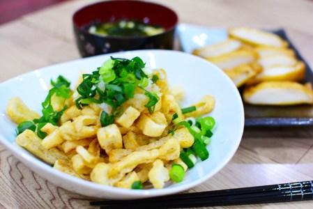薄揚げのカリカリおつまみの作り方♪安くて簡単!少し肴が欲しいときに最適なおつまみレシピ♪