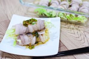 豚バラ肉とキャベツの肉巻きの作り方♪レンジで簡単に作れるお手軽料理レシピです。