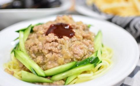辛くない♬あったかジャージャー麺のレシピ★