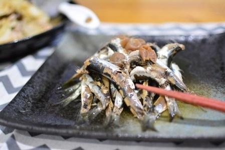 骨まで丸ごと食べられる♬いわしの梅煮のレシピ★