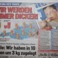 肥満大国、オーストリア!