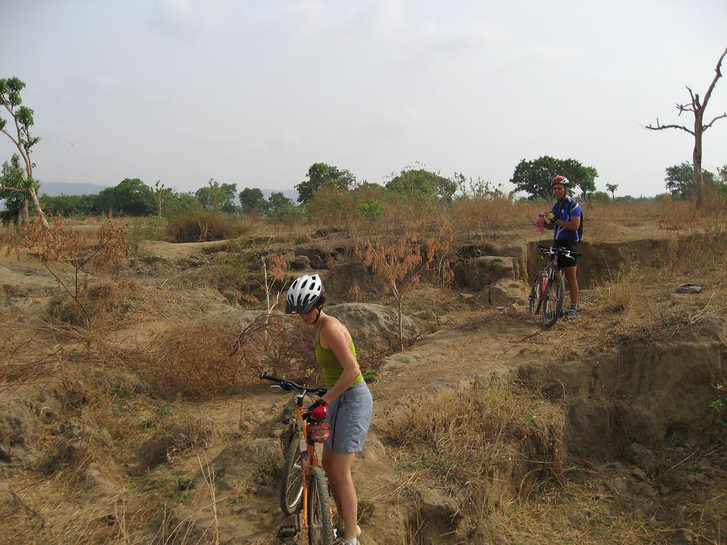 Mountain biking in Abuja