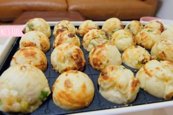 【簡單食譜】Bruno電烤盤×章魚燒、花枝燒自已做~日式美味DIY,在家品嚐夜市小吃就是那麼簡單!