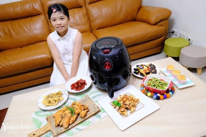 【Arlink免油健康氣炸鍋】平價又好用!炸雞鮮嫩美味×煎烤炸烘一機搞定!