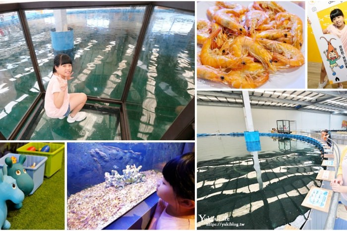 宜蘭親子景點【金車生技水產養殖研發中心】根本是水族館超好逛、鮮蝦現場吃、兒童遊戲區