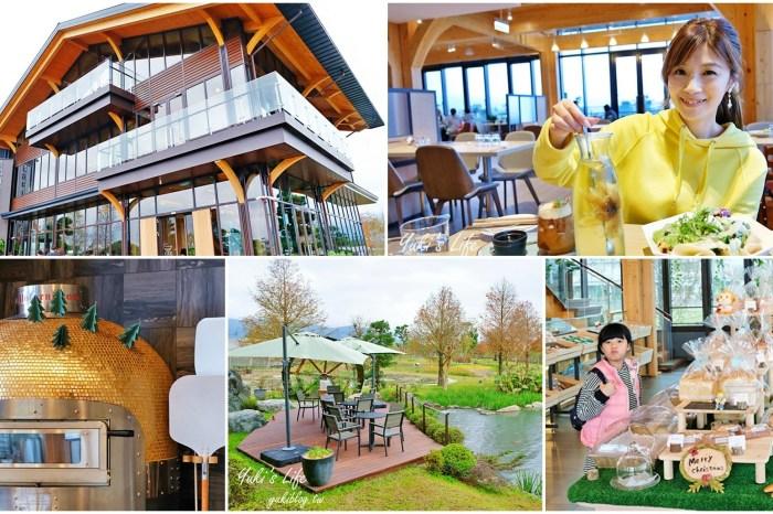 宜蘭美食新景點【棗稻田】木造綠建築太美了!親子踏青×落羽松美景