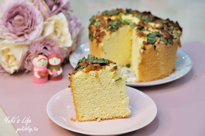 親子DIY【古早味鹹蛋糕】青蔥肉鬆蛋糕~鹹鹹甜甜真好吃!