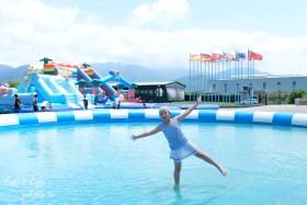 宜蘭親子景點【綺麗觀光工廠】2020童玩派對水陸暢玩~蝴蝶館、寶石館、馬賽克DIY~親子暑假好去處!