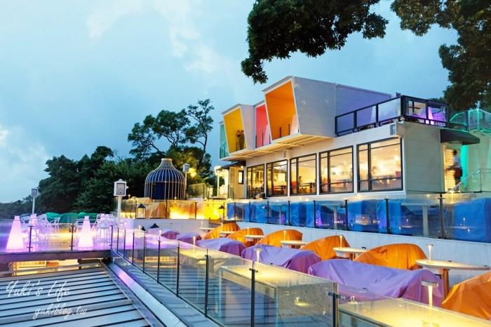 阳明山夜景餐厅【草山夜未眠】全新改版抢订位了!浪漫旋转木马、LED玫瑰灯海
