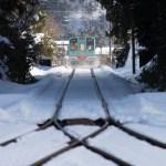 神海駅を出発した樽見鉄道