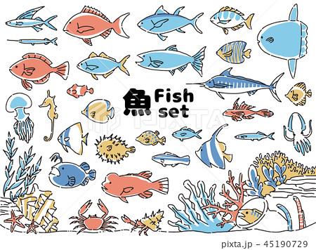 魚アイコンセット