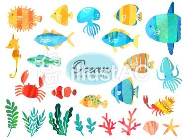 無料イラスト イラストAC 魚 熱帯魚