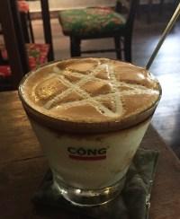 コンカフェ ベトナム カフェ ヨーグルトコーヒー