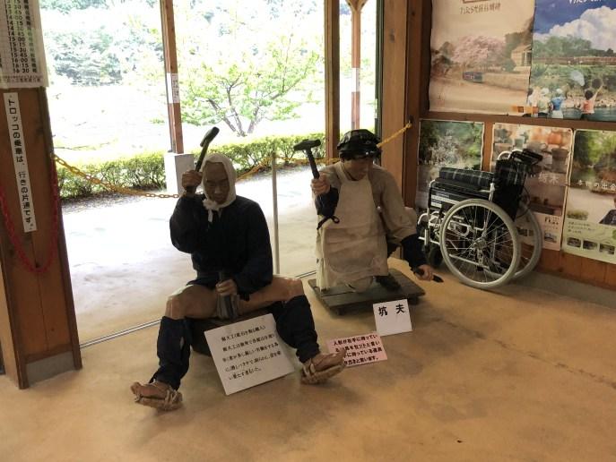 【日光】【足尾銅山】犬と一緒に行ける歴史的施設 待合室