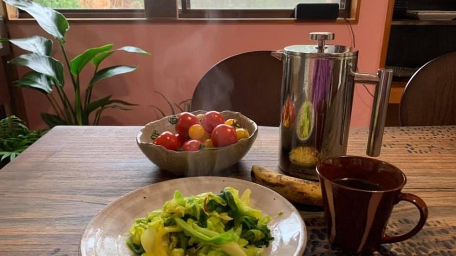 オーガニック野菜をシンプルに