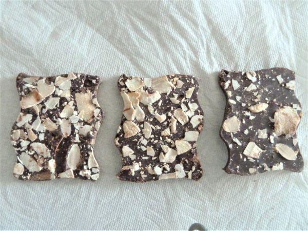コストコの有機チョコレート(バラ)