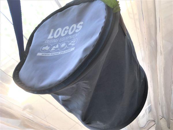 LOGOSの折りたたみ式の防水バケツ