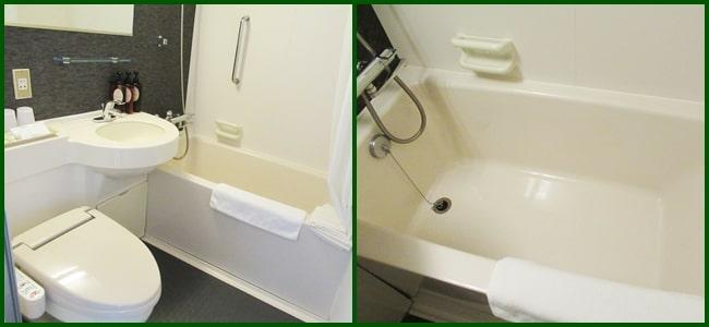 風呂とトイレ グリーンリーフホテル ニセコ